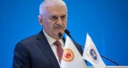 """TBMM Başkanı Yıldırım, """"Suriye krizi başlı başına bir güvenlik meselesidir"""""""
