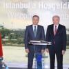 Vali Ali Yerlikaya'dan Başkan Mevlüt Uysal'a iadeyi ziyaret