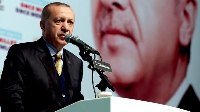 """Erdoğan, """"İstanbul'a Binali Yıldırım gibi güçlü belediye başkan adayı yakışır dedik"""""""