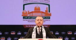 """Erdoğan, """"Musevilere yapılan katliamın faturası masum Filistinlilere kesildi"""""""