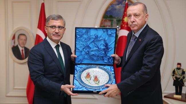 Başkan Erdoğan, Üsküdar Belediyesi'nde