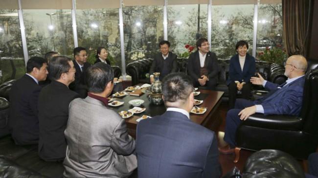 Beykoz Belediyesi'ne Çin'den misafir