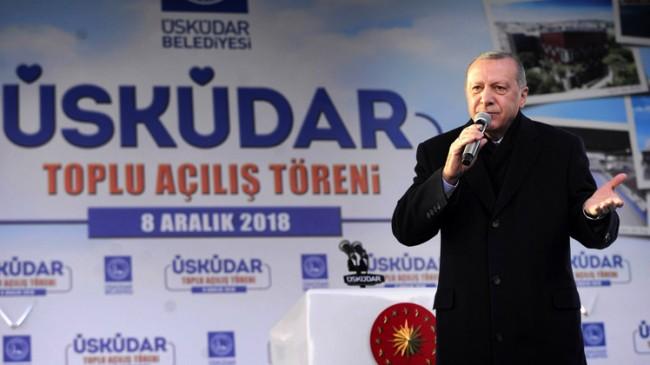 """Cumhurbaşkanı Erdoğan, """"Bunun adı AK Parti belediyeciliğidir"""""""