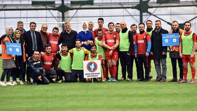 Engelliler, Tuzla Belediyesi'nin spor projesiyle musmutlu