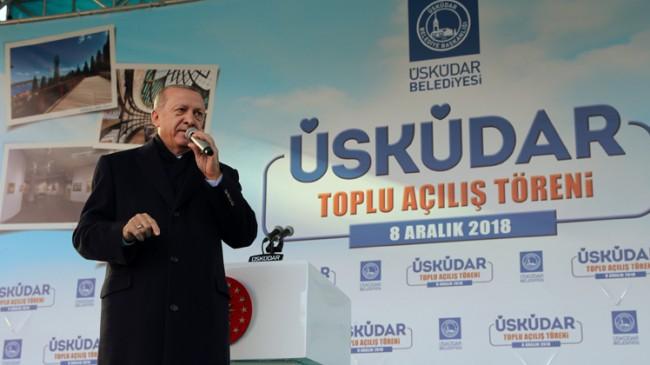 """Erdoğan, """"15 Temmuz'da bunlar bize yapılanlar karşısında sessiz duranlar"""""""