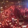İstanbul E-5'de trafik kilit!