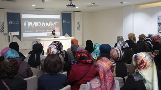 Şahyar, Cahiliyeden İslam Toplumuna Hanım Sahabiler'i anlattı
