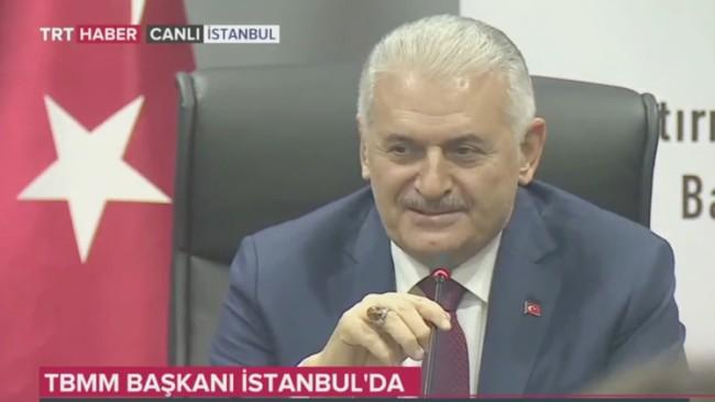 TBMM Başkanı Binali Yıldırım, aday olacak diye çıkan haberleri yalanladı!