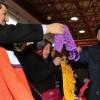 Başkan Göksu, vatandaşlara file dağıttı