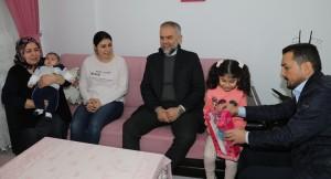 Başkan Poyraz'ın Çekmeköy'e hoş geldiniz ziyaretleri sürüyor