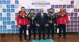 İBB'den Dünya Şampiyonu güreşçi Metehan Başar'a ev