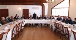 İsmet Yıldırım meclis üyeleriyle tanıştı
