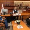 Başkan Can, Şehit Fethi Sekin'in babasını makamında ağırladı
