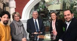 Binali Yıldırım, Kadıköy'de Barış Manço Evi'ni ziyaret etti