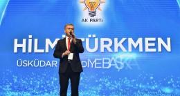 Hilmi Türkmen'e '41 kere maşallah'