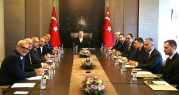Başkan Erdoğan, Arap milletvekilleri ve heyeti kabul etti