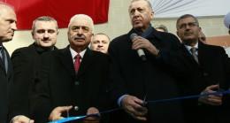 Başkan Erdoğan, eski mahallesi Burhaniye'de cami açılışında