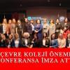 Çevre Koleji'nden uluslararası konferans