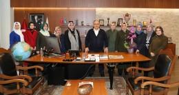 Uluslararası Fatıma Derneği, Başkan Can'ı ziyaret etti