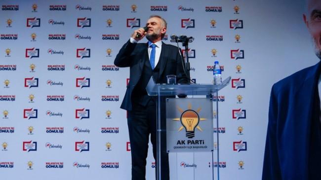 Ahmet Poyraz projelerini tanıttı