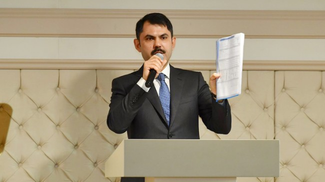 Bakan Kurum'dan imarla ilgili Başkan Türkmen'i destekleyen önemli açıklama