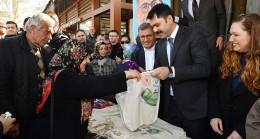 Bakan Murat Kurum, Üsküdar'da dolu dolu bir gün geçirdi