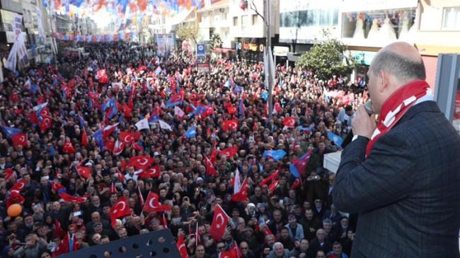 """Bakan Soylu, """"299 tane HDP'li ile PKK iltisaklıyı meclis üyelerine yazdılar"""""""