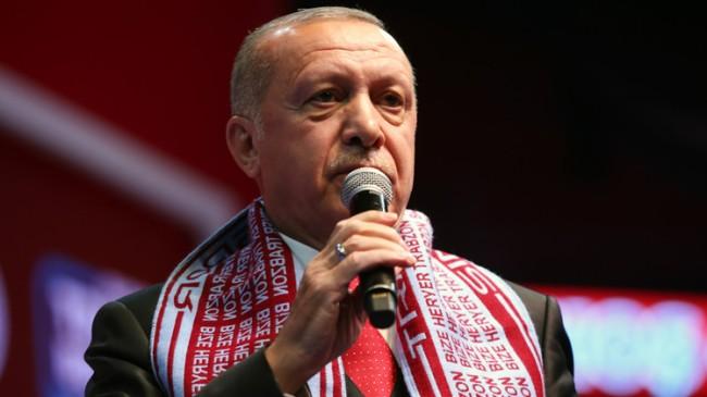 """Başkan Erdoğan, """"Ayasofya'yı tekrar aslına rücu ettiririz"""""""