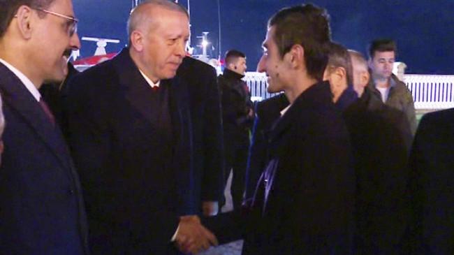 """Başkan Erdoğan, """"İyi ki varsın Yusuf"""""""