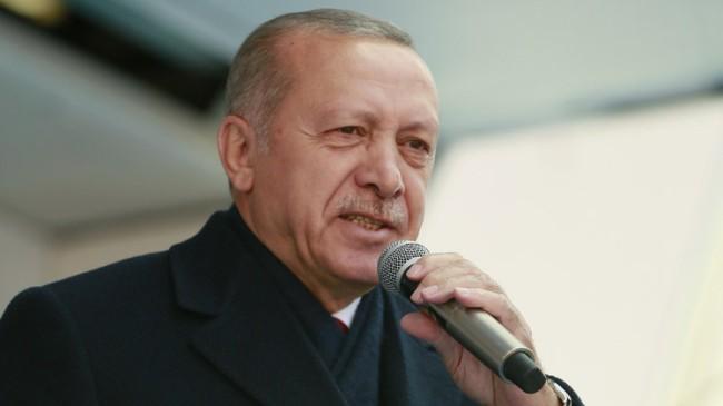 """Başkan Erdoğan, """"Kandil ve Pensilvanya'dan gelen talimatlar var"""""""