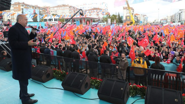 """Başkan Erdoğan, """"Kendine gel terbiyesiz!"""""""