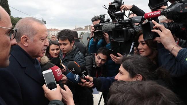 """Başkan Erdoğan, """"Seçimler Türkiye'nin kaderi üzerinde çok önemli"""""""
