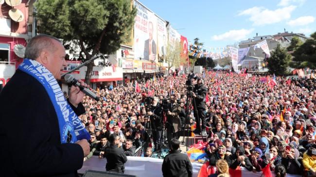 """Başkan Erdoğan, """"Türkiye'de Kürdistan diye bir bölge var mı?"""