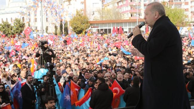"""Başkan Erdoğan, """"Yusuf'umuzun hesabını sandıkta sorun!"""""""
