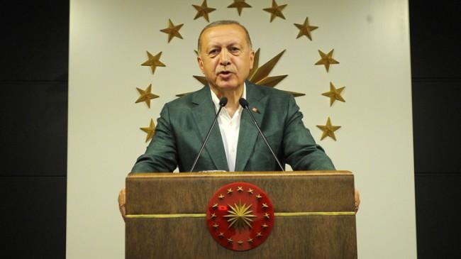 Başkan Erdoğan'ın seçim açıklaması
