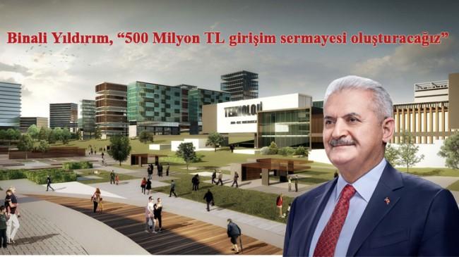 """Binali Yıldırım, """"Projelerimizi İstanbul 4.0 çatısı altında topladık"""""""