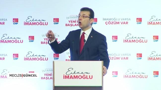 Ekrem İmamoğlu, açıkladığı projelere İBB meclisinde karşı çıkmış!
