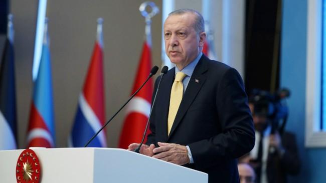 Başkan Erdoğan, Trump'a tepki verdi