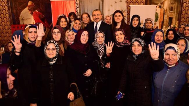 """İsmail Erdem, """"31 Mart seçimlerinde kararı kadınlar verecek"""""""