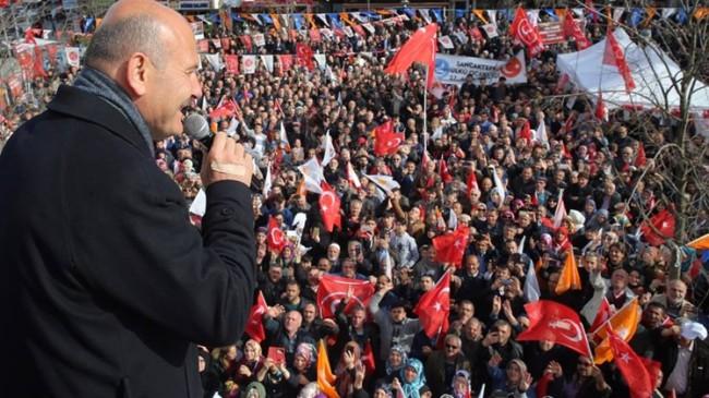 """Soylu, """"325 PKK'lı HDP'li iltisaklı, CHP, İP ve SP meclis üyesi listelerinde"""""""