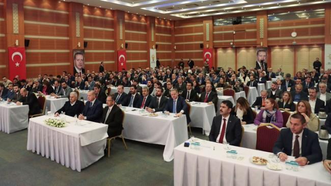 Başkan Erdoğan, İstanbul İl Başkanlığında