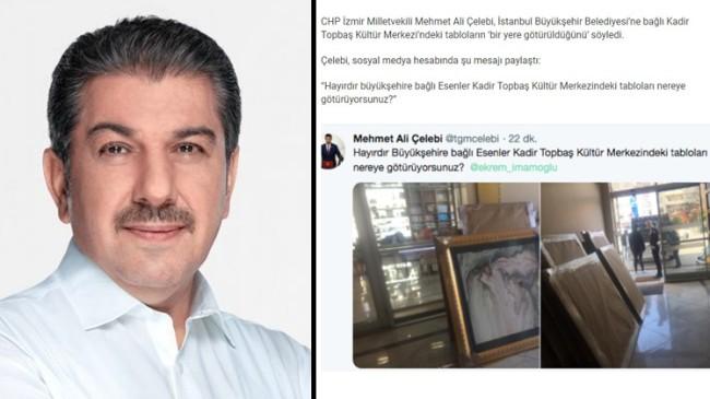 Başkan Göksu, CHP'li Milletvekili Çelebi'yi tweet attığına pişman etti