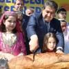 """Başkan Göksu, """"Pişirdiğimiz ekmeği dünyanın bütün liderlerine dilim dilim yaparak göndereceğiz"""""""
