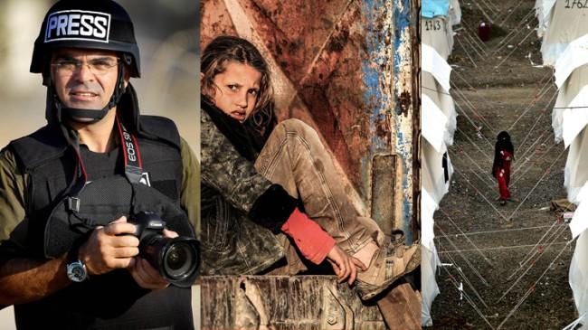 """Bünyamin Aygün'ün """"Sınırdaki İnsanlar"""" fotoğraf sergisi"""