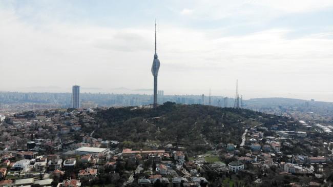 Çamlıca Kulesi'nde sona gelindi