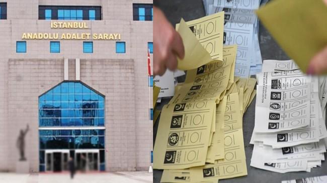 Cumhuriyet Başsavcılığı'ndan Kadıköy ve Kartal seçimlerine soruşturma!