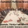Erzincanlı İşadamları Platformu'nun geleneksel buluşması