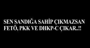 İstanbul'u bu terör örgütlerine teslim edecek kadar kararttık gözlerimizi!