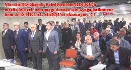 İstiklal Marşı okumayan Mardin'in PKK'lı meclis üyeleri!