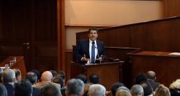 Mehmet Tevfik Göksu'dan İBB Meclisi'nde tarihi konuşma